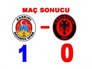 1--0 MAC SONUCU