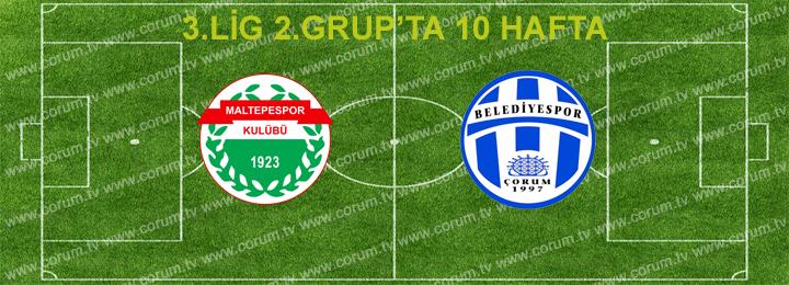 Maltepespor: 1 – Belediyespor: 1