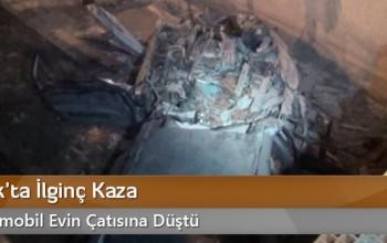 Osmancık'ta İlginç Kaza