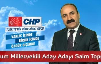 CHP Çorum Milletvekili Aday Adayı Saim Topgül'ün Vaatleri