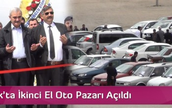 Osmancık'ta İkinci El Oto Pazarı Açıldı