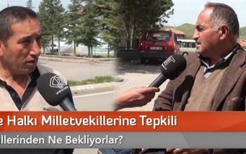 Boğazkale Halkı Milletvekillerine Tepkili