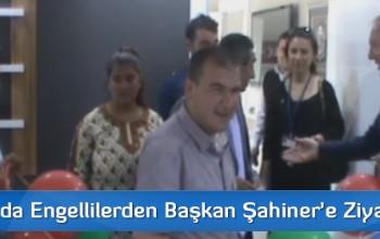 Sungurlu'da Engellilerden Başkan Şahiner'e Ziyaret