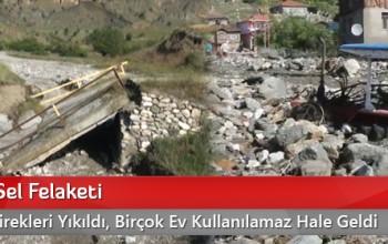 Kargı'da Sel Felaketi