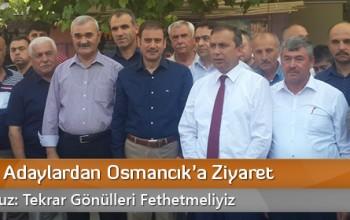 AK Partili Adaylardan Osmancık'a Ziyaret