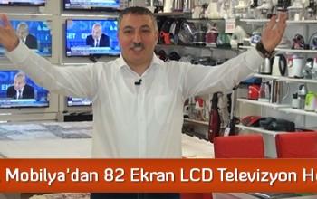 Karabacak Mobilya'dan 82 Ekran LCD Televizyon Hediye!