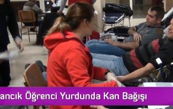 KYK Osmancık Öğrenci Yurdunda Kan Bağışı