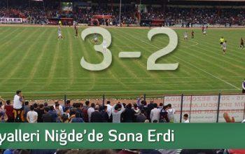 Belediyespor Play-Off'a Veda Etti