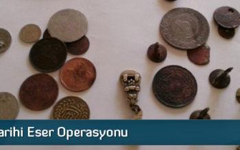 İskilip'te Tarihi Eser Operasyonu