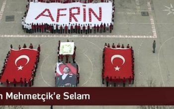 210 Öğrenciden, 'Afrin' Koreografisi