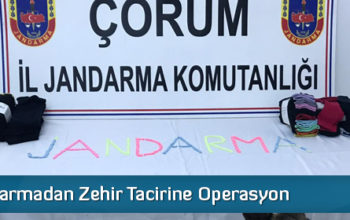 Jandarmadan Zehir Tacirine Operasyon