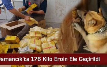 Osmancık'ta 176 Kilo Eroin Ele Geçirildi