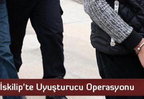 İskilip'te Uyuşturucu Operasyonu